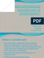 Condenser Performance Analysis and Its Improvement
