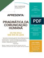 Panfleto Pragmática Da Comunicação