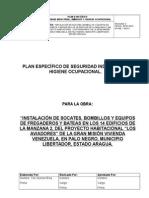 Plan Especifico de Constructora Luvial, CA