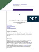 August 2014 VMN Newsletter