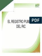 1 Presentacion Registro Publico