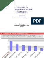 Intervention résumée V2 E Flamand Convention Région Centre 12 déc. 09
