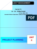 Unit II Project Planning Revised