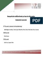 Nanoparticule Multifunctionale Pe Baza de Siliciu Pentru