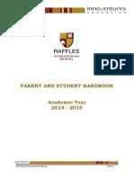 parent student handbook 2014-2015