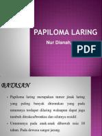 Presentasi F Papiloma Laring
