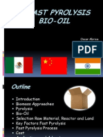 Bio-Oil Production- Pyrolysis