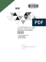Modulo Analogo DVP06XA-E2_Manual