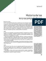 Historia de Las Microcomputadoras