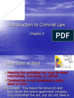 chapter8introduction to criminal law