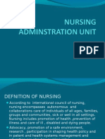 Defnition of Nursing