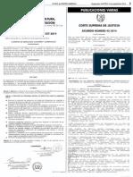 Acdo. CSJ 42-2014 Reglamento Órganos Jurisdiccionales y Adminsitrativos Centro de Justicia de Familia de Guatemala
