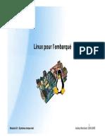 Module E4 Linux Embarque