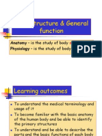 1-1. Body Structure General Function- ME213