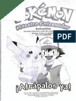 Juegos_Mesa_ Instrucciones Pokemon Maestro Entrenador