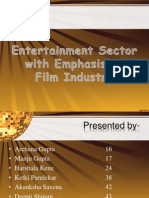 Entertainment Sector Ppt