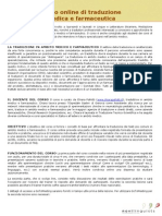Corso Di Traduzione Medica e Farma_Novilinguists