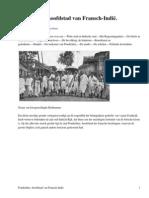 Pondichéry, hoofdstad van Fransch-IndiëDe Aarde en haar Volken, 1906 by Verschuur, G.