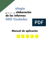 Metodología GEO Ciudades