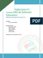 03 - Metodologías Para SW Educativo