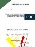 Energi Panas Matahari