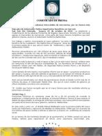 01-10-2010 El Gobernador Guillermo Padrés inauguró obras de pavimentación, puso la 1ª piedra del ITAMA y anunció que agilizará la ampliación de las aduanas de Nogales, Agua Prieta, Sonoita y San Luis. B101001