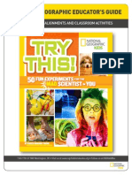Educator Guide for TRY THIS! - 50 FUN SCIENCE EXPERIMENTS