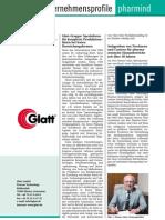 Glatt Information about the Glatt Group