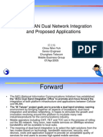10ATIE_3G & WLAN Dual Network Integration and Proposed Applications