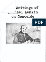 Raphael Lemkin Key Points From Key Writings