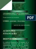 AUDITORIA FINANCIERA 2012