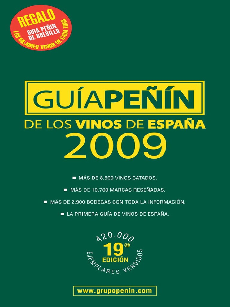 Guia Peñin 2009