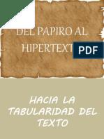 Del Papiro Al Hipertexto