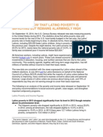 2013 Data Latino Poverty Analysis