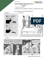 2014-15 10 º Ano, Ficha de Trabalho, o Que é a Filosofia
