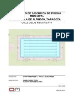 Proyecto Piscina Municipal Zaragoza