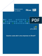 Quanto Custa Abrir Uma Empresa No Brasil