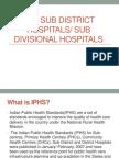 sub district hospital