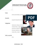 Formas de Estado y Gobierno