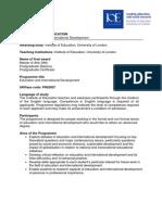 Http Www.ioe.Ac.uk Documents Brochures PMM9 EID9IM