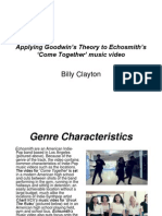 Applying Goodwin's Theory to Echosmith's 'Come Together