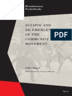 Eclipse and Reemergence of the Communist Movement