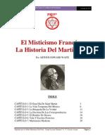 Arthur Edward Waite La Mistica Francesa y La Filosofia Del Martinismo