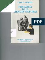Filosofía de La Ciencia Natural - Hempel