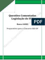 _Questões Comentadas_Legislação Do SUS_BANCA IADES