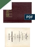 F. List Sistem National de Economie Politica (Cover, Preface)