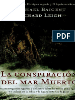 La Conspiracion Del Mar Muerto