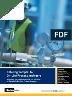 Filtering Samples Online Analyzers
