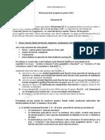 Sfaturi Privind Pregatirea Pentru BAC Subiectul Al III-lea