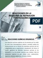 Quimica Organica en La Industria de Refinacion y Petroquimica